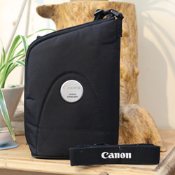 Used Canon IS 10x30 Image Stabilised Binoculars Case and Lanyard
