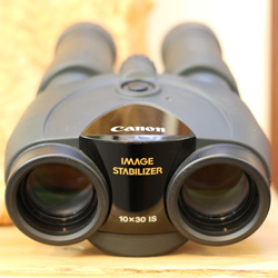 Used Canon IS 10x30 Image Stabilised Binoculars Front