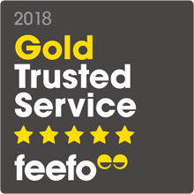 Feefo 2018 Gold Trusted Service